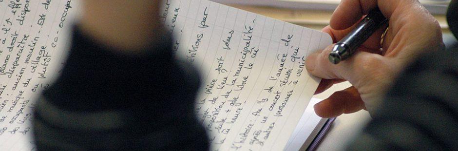 atelier d'écriture - stage d'écriture - creative writing - Les Artisans de la Fiction