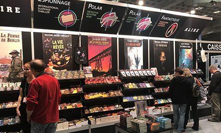 Stand des éditions Alire au Salon du Livre de Montréal 2017