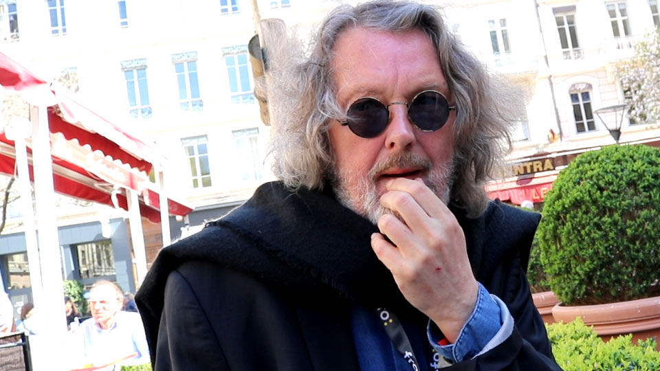 Interview Árni Þórarinsson quais du polar 2019