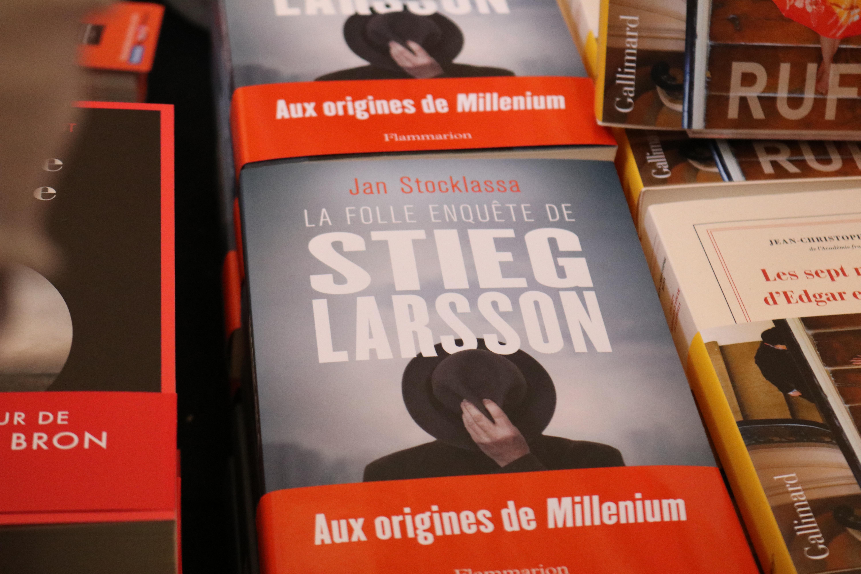 La folle histoire de Stieg Larsson Jan Stocklassa 2018