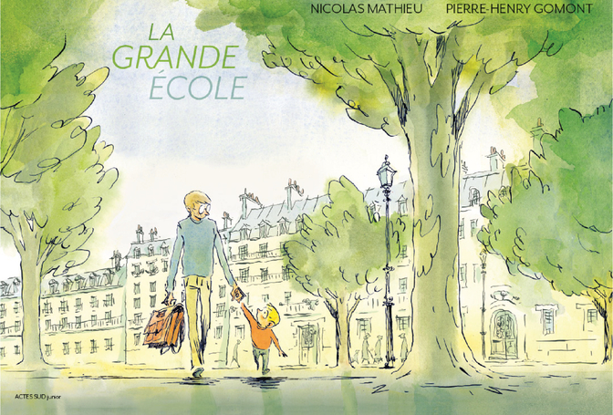 Nicolas Mathieu écrivain la grande école