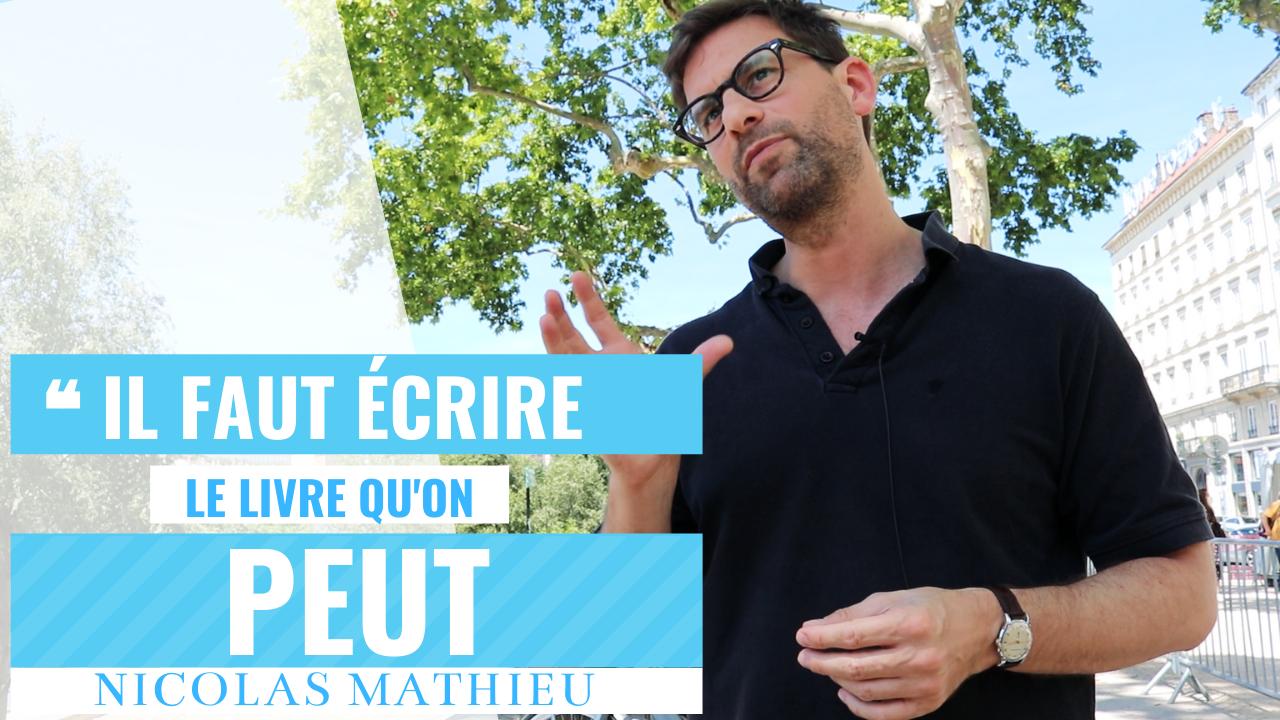 Nicolas Mathieu interview