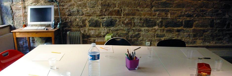 Des salles dédiées à l'écriture et aux ateliers